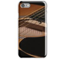 An Acoustic guitar case iPhone Case/Skin