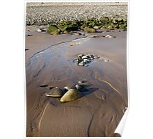 Sand and Pebbles Poster