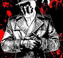 the Watchmen- Rorshach by American Artist