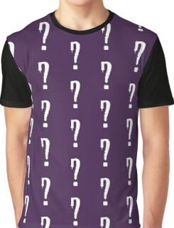 Question Mark - style 9 Graphic T-Shirt
