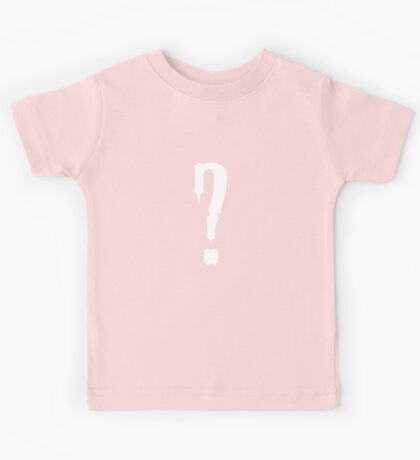 Question Mark - style 9 Kids Tee