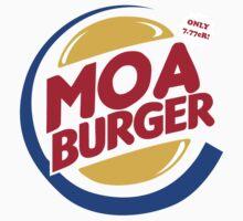 Moa Burger Baby Tee