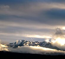 Clouds of the Olympic Mountains by Moonamie