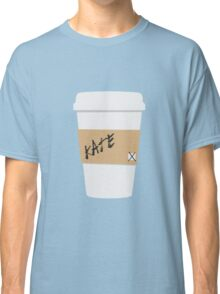 Kate Beckett Coffee Classic T-Shirt