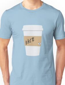 Kate Beckett Coffee Unisex T-Shirt
