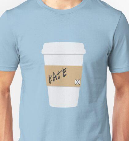 Kate Beckett Coffee Unisex T-Shirt