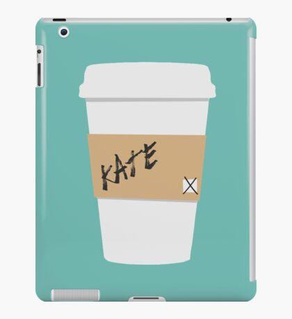 Kate Beckett Coffee iPad Case/Skin