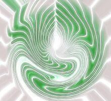 Storm Amoeba - Abstract by Jan Clarke
