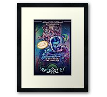 Space Mutiny Boxart Framed Print