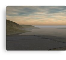 Remote Terrace Canvas Print