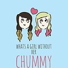 What's A Girl Without Her Chummy - Zoella & Spinkle of Glitter by 4ogo Design