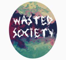 Wasted society - Smokey Kids Clothes