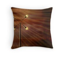 On a dark and stormy night  Throw Pillow