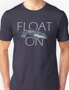 Float on Whale Doodle T-Shirt