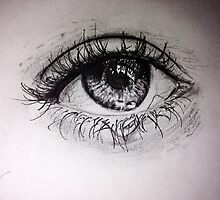 Realistic Eye by MadVonD