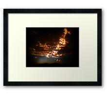 ©HCS Warm Sky IAB Framed Print