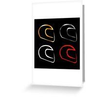 motorsports Greeting Card