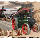 Steamfest. Sheffield, Tasmania by Elaine Game