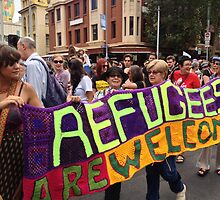 welcome refugees by jayview
