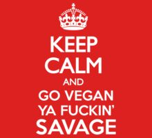 KEEP CALM VEGAN by rule30