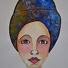 Blue Turban by ShellsintheBush