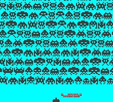 Too Many Space Invaders by HalfFullBottle