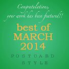 Best of March challenge header by steppeland