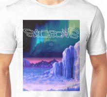 Icy Winter Vaporwave Aesthetics Unisex T-Shirt