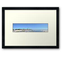 Rosebud Kite Festival - Panoramic Framed Print