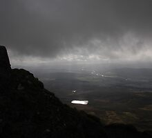 Cloudy Ben Vrackie by Pete Johnston