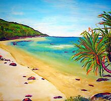 Whitsunday Island by gillsart