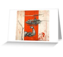 1967 helicopter Greeting Card