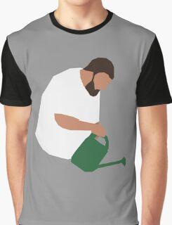 DJ Khaled Gardening Graphic T-Shirt
