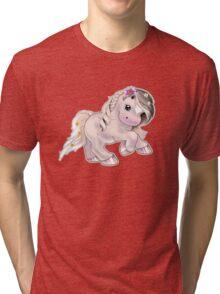 Flower Filly Tri-blend T-Shirt