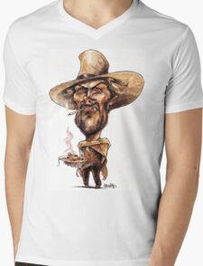 Clint Eastwood spaghetti  Mens V-Neck T-Shirt