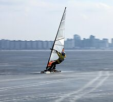 racer windsurfer by mrivserg