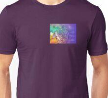 Serenity Prayer Flowers and Tree  Unisex T-Shirt