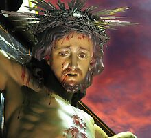 Our Crucified Lord by fajjenzu