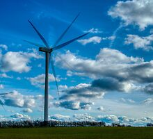 Windpower - In Action by elfcall