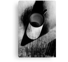 White mug  Canvas Print