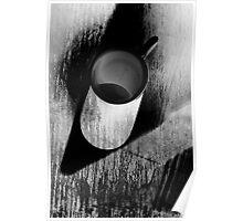 White mug  Poster