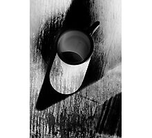 White mug  Photographic Print
