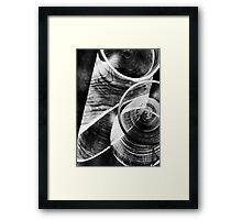 Glass and quartz Framed Print
