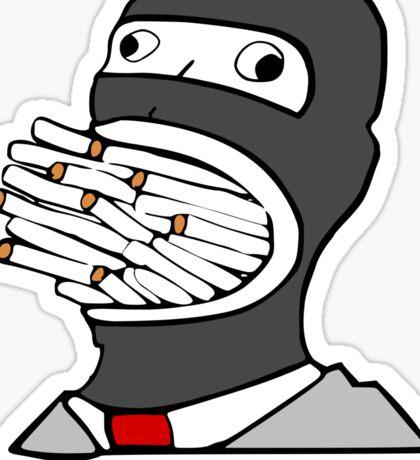 Gentlemen. (No Smoke) Spy - Team Fortress 2 Sticker