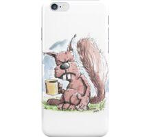 Monday Morning Squirrel iPhone Case/Skin