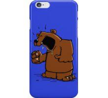 Grumpy Bear has an Argument iPhone Case/Skin