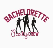 Bachelorette Party Crew by nektarinchen