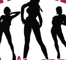 Bachelorette Party Crew Sticker