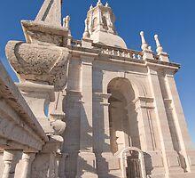Bell tower. Torre sineira do Mosteiro de São Vicente de Fora by terezadelpilar~ art & architecture