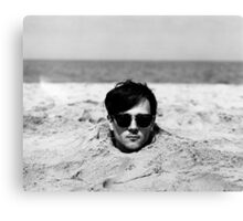 Head in the Sand Canvas Print